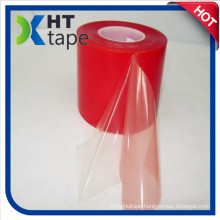 Double Sided Tape with Red Film