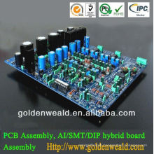 hair straightener pcb assembly Electronic circuit assembly service for park light board