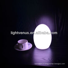 Vente chaude Egg table lumineuse