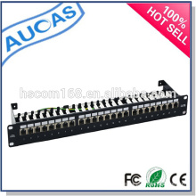 Großhandel Porzellan Fabrik niedrigen Preis systimax cat6 24 Port Patch Panel / utp rj45 1U Patch Panel / Rack Mount Patch-Panel