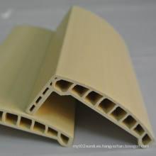 Arc WPC Architrave PVC Architrave Perfil de puerta de PVC Laminado Architrave at-80h18