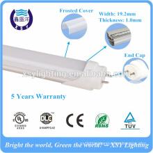 High lumens 130lm/w 4 foot led tube with DLC UL cUL TUV CE