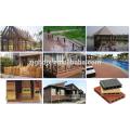 Ligne d'extrusion de profils composés de plastique en bois