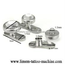 piercing d'ancre dermique bijoux