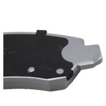 D1092 High performance ceramic front brake pads for GMC TRUCK Sierra Denali 6.0L 2007