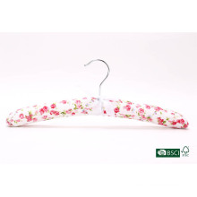Soft Lovely Vintage Closet Usage Display Satin Hanger