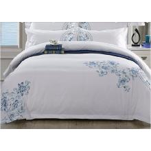 2016 роскошный 100% хлопок белый отель простыня устанавливает жаккардовые вышивки постельные принадлежности наборы