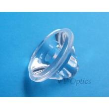 Lente LED de vidro óptico de 50W para luz LED