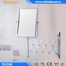 Espejo montado en la pared decorativo con bisagras de metal de lujo del hotel