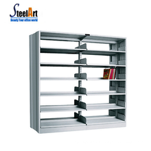 School furniture portable book shelf library book dispaly metal bookcase japanese bookcase