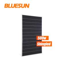 Bluesun 500w solar system for home 500w solar module perc solar panels half cell 470w 490w 500w