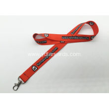 Trade Fair Flat Polyester Lanyard