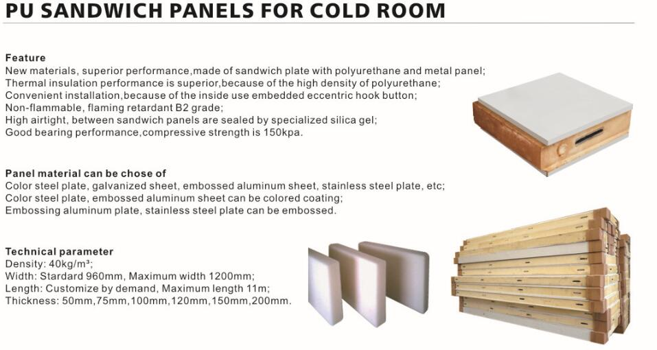 walk in cooler wall panels