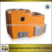 Piezas de maquinaria de perforación de petróleo personalizado aleación de arena de acero de fundición con el mecanizado y la pintura