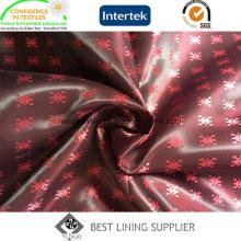 100 полиэстер мужской костюм Сатин Жаккард Подкладка Производитель ткани Китай