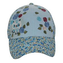Custom Made Kids 6 Panels Baseball Cap with Buckle Closure