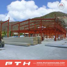 Fácil instalación Diseño industrial personalizado Estructura de acero Almacén