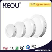 CE/RoHS certificado LED Panel superficie luz 6W/12W/18 w/24W