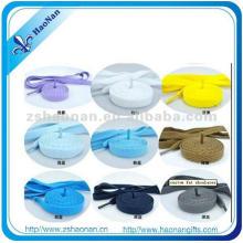 Polyester Material Großhandel Schnürsenkel für Fußballschuhe (HN-SL-0018)