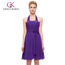 Grace Karin Stunning Chiffon Short Women's Special Occasion Bridesmaid Dresses Patterns CL2290-6