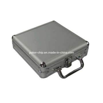 100PCS Poker Chip Set in Plain Surface Aluminum Case (SY-S09)