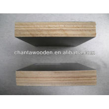 1220x2440x12mm filme enfrentou madeira compensada com núcleo de álamo