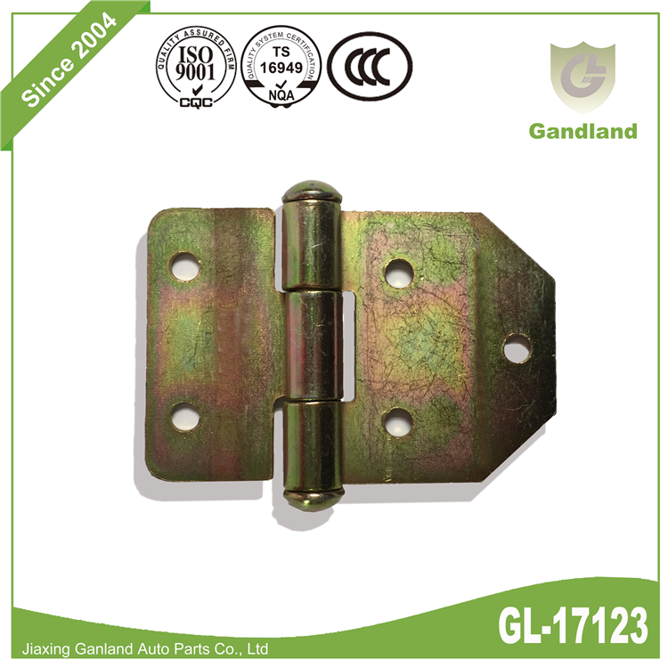 color zinc plating Strap Hinge GL-17123-1