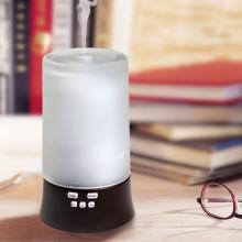 2018 neue LED Musik MP3 Glas Keramik 3D Aromatherapie Öl Diffusor Luftbefeuchter Aroma Diffusor