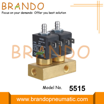 Mesin Kopi Valve Solenoid Steam Brass With Base
