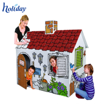 Popular High Quality Customized Carton Stool Furniture, Corrugated Cardboard DIY Furniture