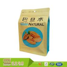 Гуанчжоу Дешевые Бесплатный Образец Плоского Дна Качества Еды Обслуживание OEM Подгонянный Сертификат Пищевой Пластик Сумки