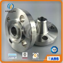 ASTM В16.5 Выкованные соединения фланца трубы сварки Фланец шеи (KT0377)