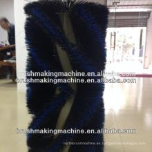 Máquina del cepillo del rodillo de 4 ejes