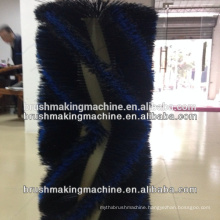 4 axis roller brush machine