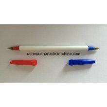 2016 Stick Kugelschreiber mit Doppelspitze rot und blau