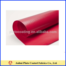 pvc coated stretch tent fabric made in 100% polyester fabric with both side coated by vinyl pvc