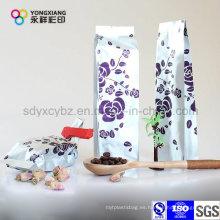 Bolsa de embalaje de plástico de sellado de 4 láminas de aluminio