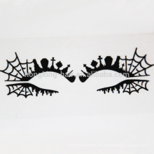Spinnennetz Augen Dekoration Aufkleber Lidschatten bilden Crytal Aufkleber Tattoo Aufkleber