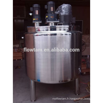Réservoir de mélange liquide liquide en inox 50L-20000L