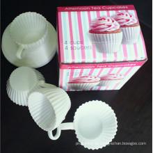 Silikon-Kuchen-Schimmel-Cup Cup Pan-DIY Kuchen Schimmel