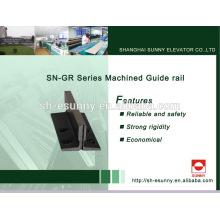 Rail de guidage moderne pratique 5mm 7mm 9mm ascenseur
