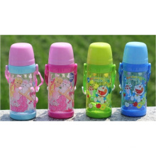 500ml Food Grade New Design Tritan Water Bottle, Transparent Sports Bottle, Plastic Water Bottle