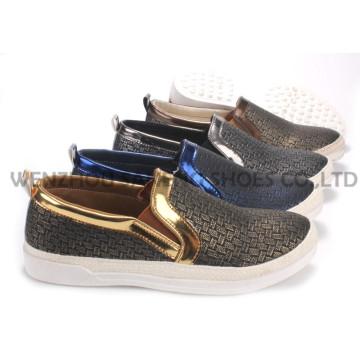 Damenschuhe Freizeit PU Schuhe mit Seil Outsole Snc-55009