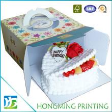 Take Away Corrugated Cardboard Decorative Cake Boxes