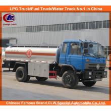 Heavy Duty 6 Wheels 10000liters 15000 Liters Oil Tank Truck Dongfeng Fuel Tank Truck