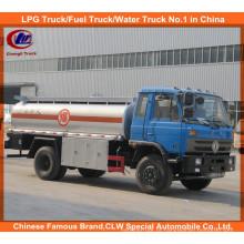 Heavy Duty 6 rodas 10000liters 15000 litros caminhão tanque de petróleo Dongfeng caminhão tanque de combustível