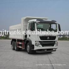 6 * 4 lecteur Sinotruk HOWO dumping type camion à ordures / garbage compresseur camion de transport / camion de collecte des ordures