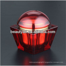 200ml Square Cosmetic Packaging Acrylic Jars