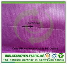 Déformation facile de tissu perforé de polypropylène