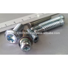 Reliure à froid / relais de direction rivet de base, vis, attache